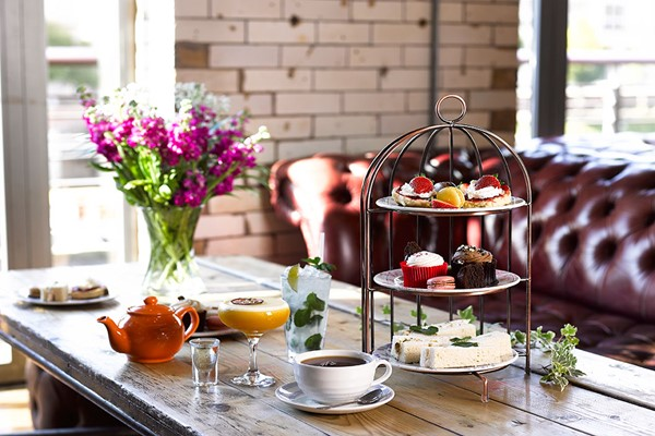 Cocktail Afternoon Tea for Two at Revolution Bars