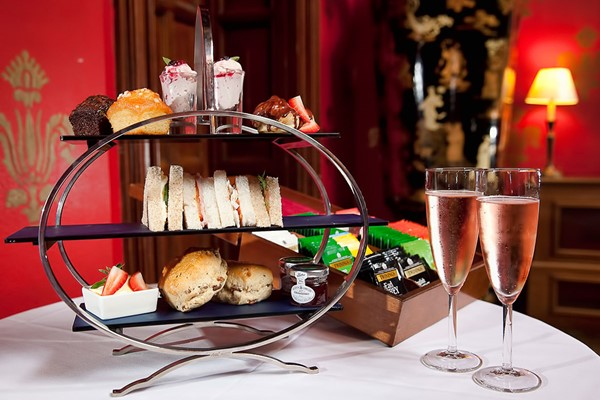 Afternoon Tea for Two at Brownsover Hall Hotel