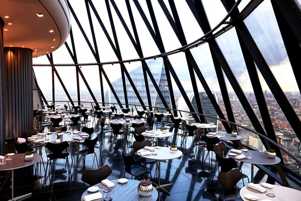 Buy Two Course Lunch for Two at Searcy's at The Gherkin