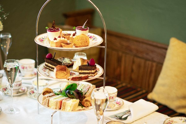 Buy Afternoon Tea with Bottomless Fizz or Gin for Two in Coghlans at Barningham