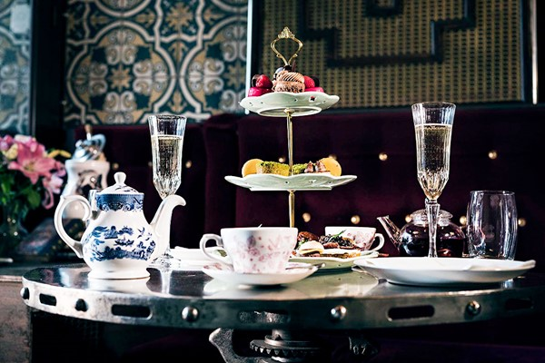 Bottomless Gin Afternoon Tea For Two At MAP Maison