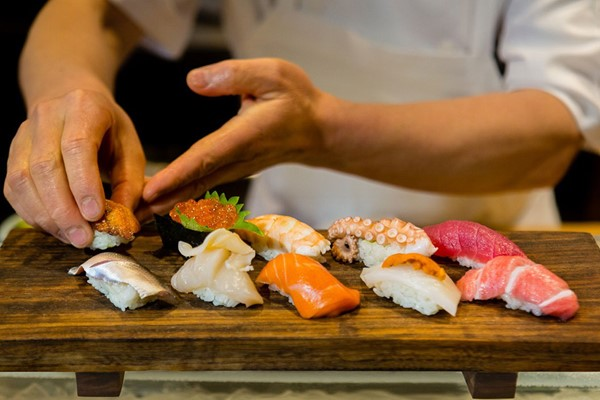 Sushi Making Workshop at Midas Touch Crafts
