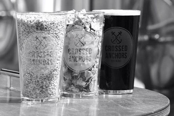 Brewery Tour and Beer Tastings for Two at Crossed Anchors