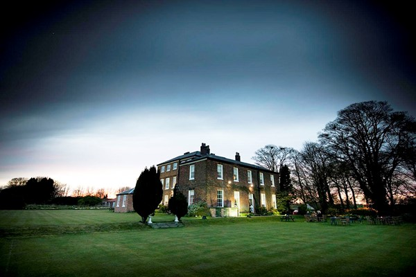 Three Course Meal and Glass of Prosecco for Two at Rowley Manor Hotel