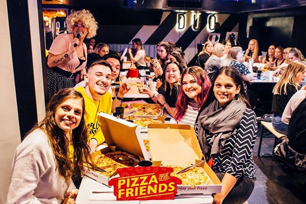 Friends Themed Bottomless Cocktails and Pizza for Two at DUO Camden