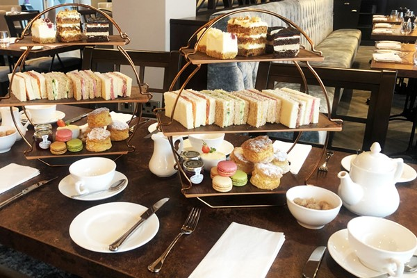 Marco Pierre White Afternoon Tea with Bubbles for Two at Mercure Bridgwater
