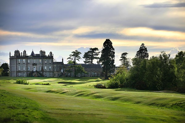 Scenic views of the Dalmahoy Hotel and Country Club in Edinburgh