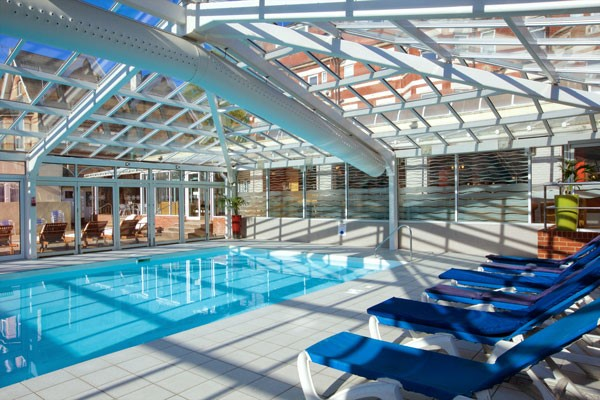Spa Day with Lunch for Two at Bournemouth West Cliff