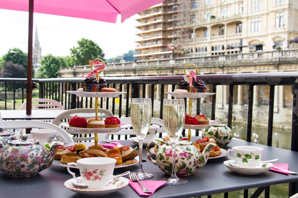 Buy Bottomless Bubbles and Afternoon Tea for Two at B Bakery Bath