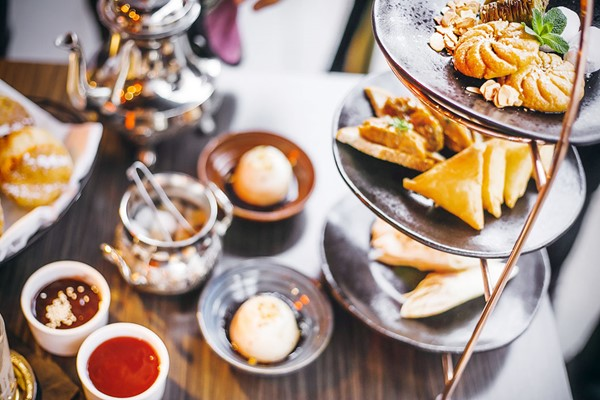 Champagne Middle Eastern Afternoon Tea for Two at Mamounia Lounge Knightsbridge