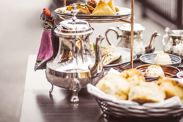 Middle Eastern Afternoon Tea for Two at Mamounia Lounge Knightsbridge