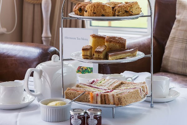 Afternoon Tea for Two at a New Forest Hotel