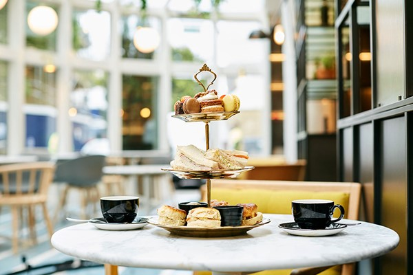 Afternoon Tea for Two at Novotel London Bridge