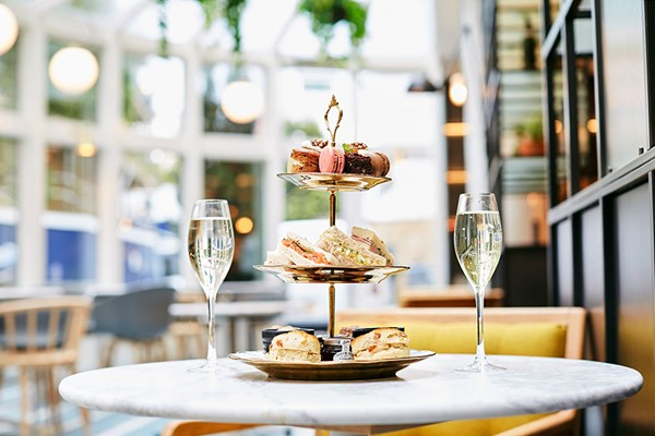 Afternoon Tea with a Glass of Prosecco for Two at Novotel London City South
