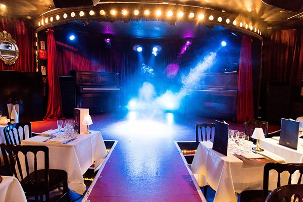 Three Course Meal with Cocktail and Show Tickets at Proud City
