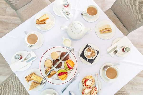 Afternoon Tea with Bubbles for Two at The Winchester Royal Hotel