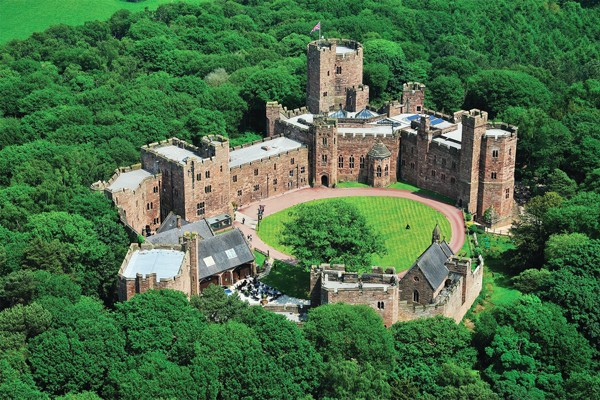 Afternoon Tea for Two at Peckforton Castle