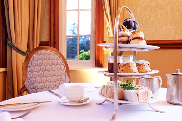 Afternoon Tea for Two at Nunsmere Hall