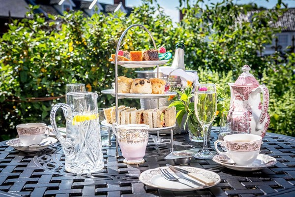 Buy Afternoon Tea with Bottomless Gin or Fizz for Two at The Dial House