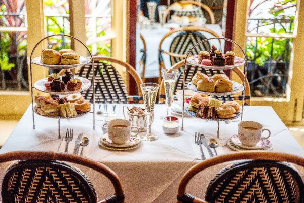 Afternoon Tea with Fizz for Two at Boulevard Brasserie