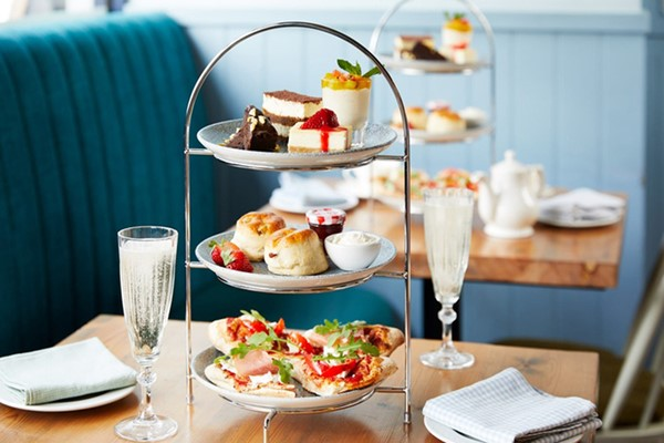 Italian Afternoon Tea with Fizz for Two at Bella Italia