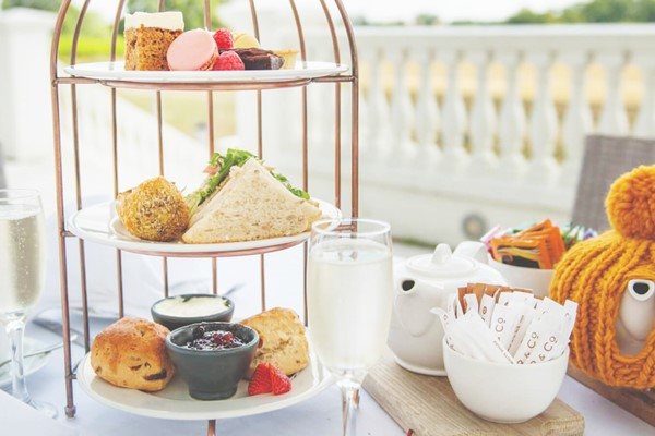 Afternoon Tea with Bubbles for Two at Wokefield Estate