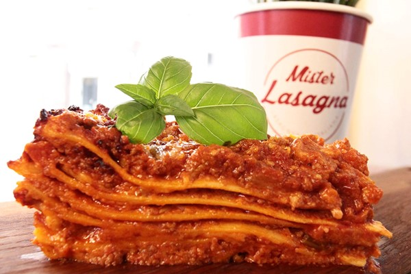 Three Course Meal with Bottle of Wine for Two at Mister Lasagna
