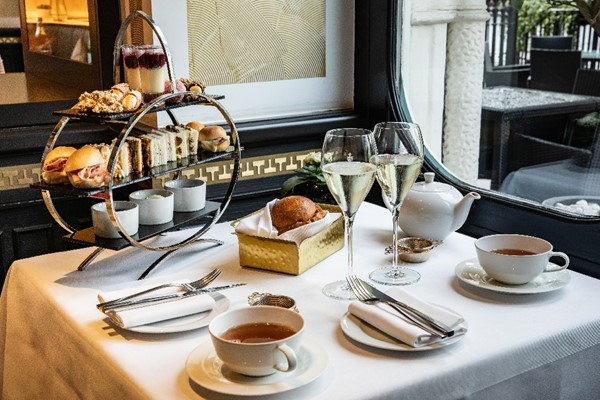 Prosecco Afternoon Tea for Two with an Italian Twist at Baglioni Hotel London