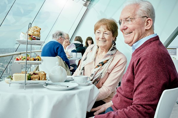 Traditional Afternoon Tea with a View for Two at Spinnaker Tower