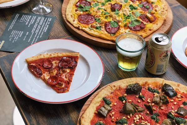 Buy Bottomless Pizza for Two at Gordon Ramsay's Street Pizza, St Paul's