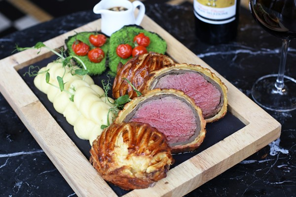Beef Wellington Dining Experience for Two at Gordon Ramsay's Bread Street Kitchen