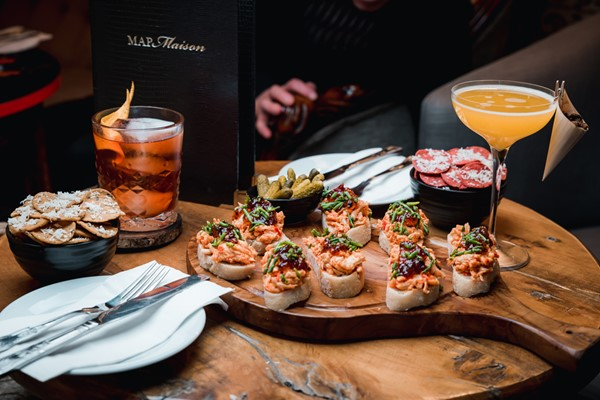 Cocktails and Nibbles for Two at MAP Maison – Special Offer