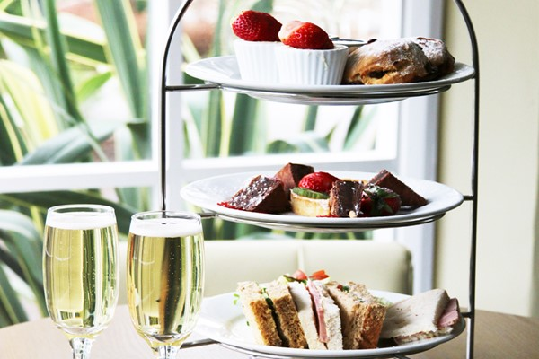 Sparkling Afternoon Tea for Two at The Wild Pheasant Hotel and Spa