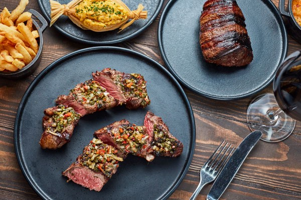 Three Course Dinner with Glass of Prosecco for Two at Gaucho