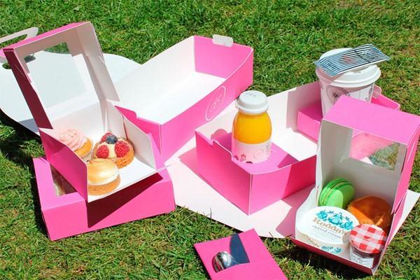 Picnic Box Afternoon Tea for Two with Brigit's Bakery, Covent Garden