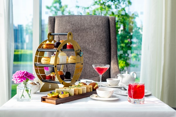 Champagne Afternoon Tea for Two at InterContinental London - The O2
