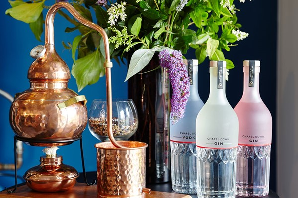 Buy Make Your Own Gin Experience with Gin Works plus Voucher for a Tour of Tenterden Vineyard for Two