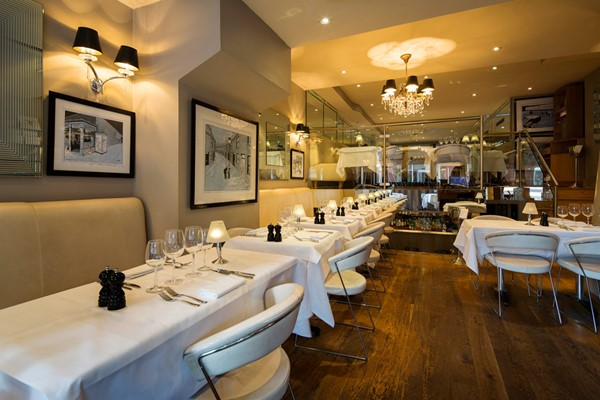 Three Course Sunday Roast and a Cocktail for Two at Marco Pierre White London Steakhouse Co