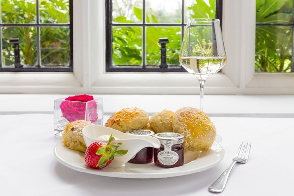 Luxury Prosecco Afternoon Tea at Greenwoods Hotel and Spa for Two