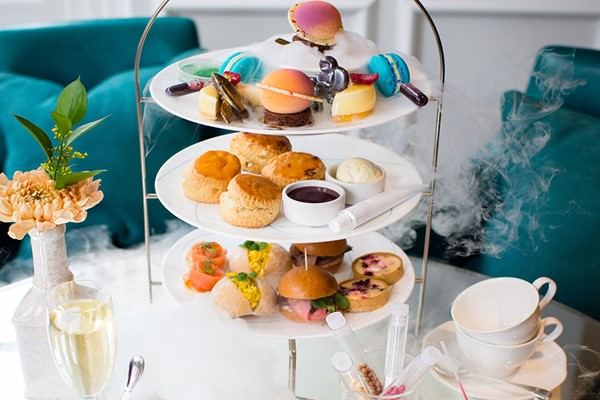 Science Themed Champagne Afternoon Tea for Two at The Ampersand Hotel