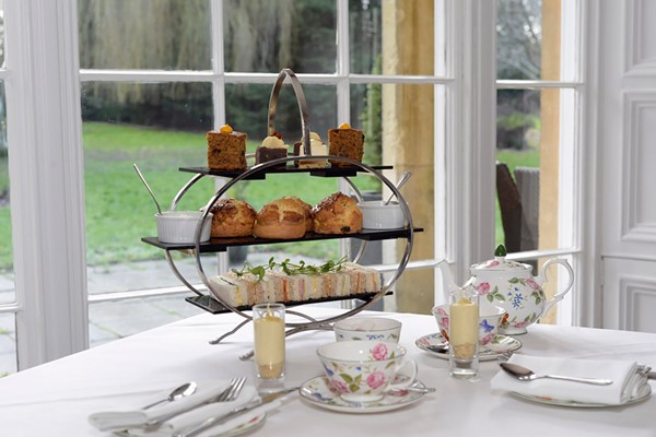 Hendricks Gin Afternoon Tea for Two at Chiseldon House