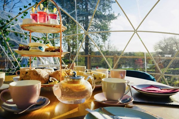 Gin Afternoon Tea for Two at The Old Barn at Wadenhoe
