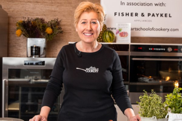 60 Minute Live Online Cookery Class with Ann at Smart School of Cookery
