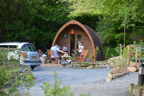 One Night Camping Break at Langstone Manor