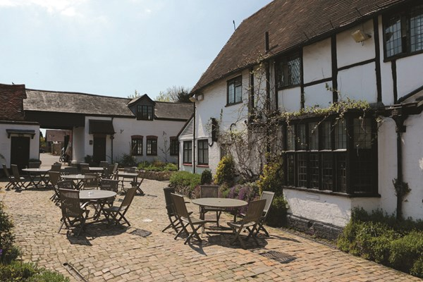 One Night Break with Dinner at The Crown Inn Shropshire