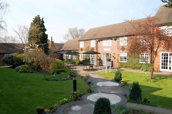 One Night Break for Two at Brook Marston Farm Hotel