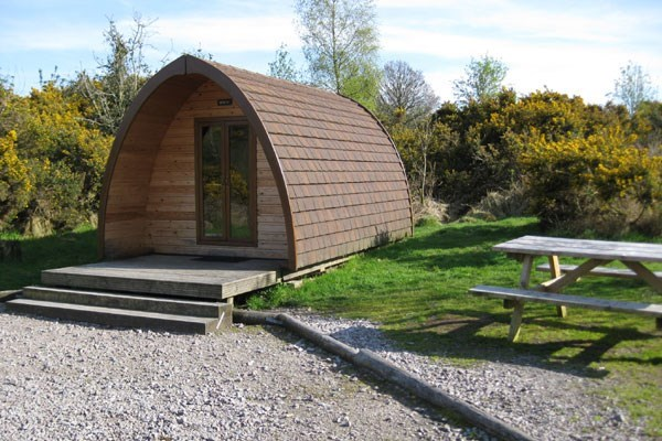 One Night Camping Break in a Jumbo Pod at Gorsebank