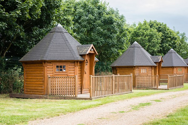 Two Night Glamping Break at Lee Valley Campsite, Sewardstone