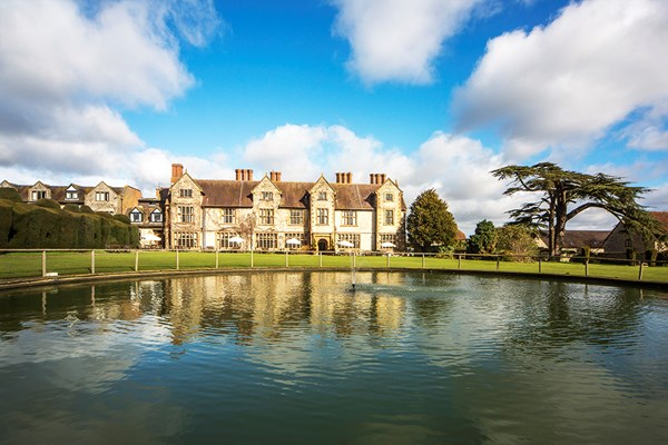 One Night Break with Dinner for Two at Billesley Manor Hotel