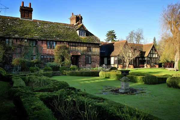 Champagne Afternoon Tea For Two at Langshott Manor Hotel